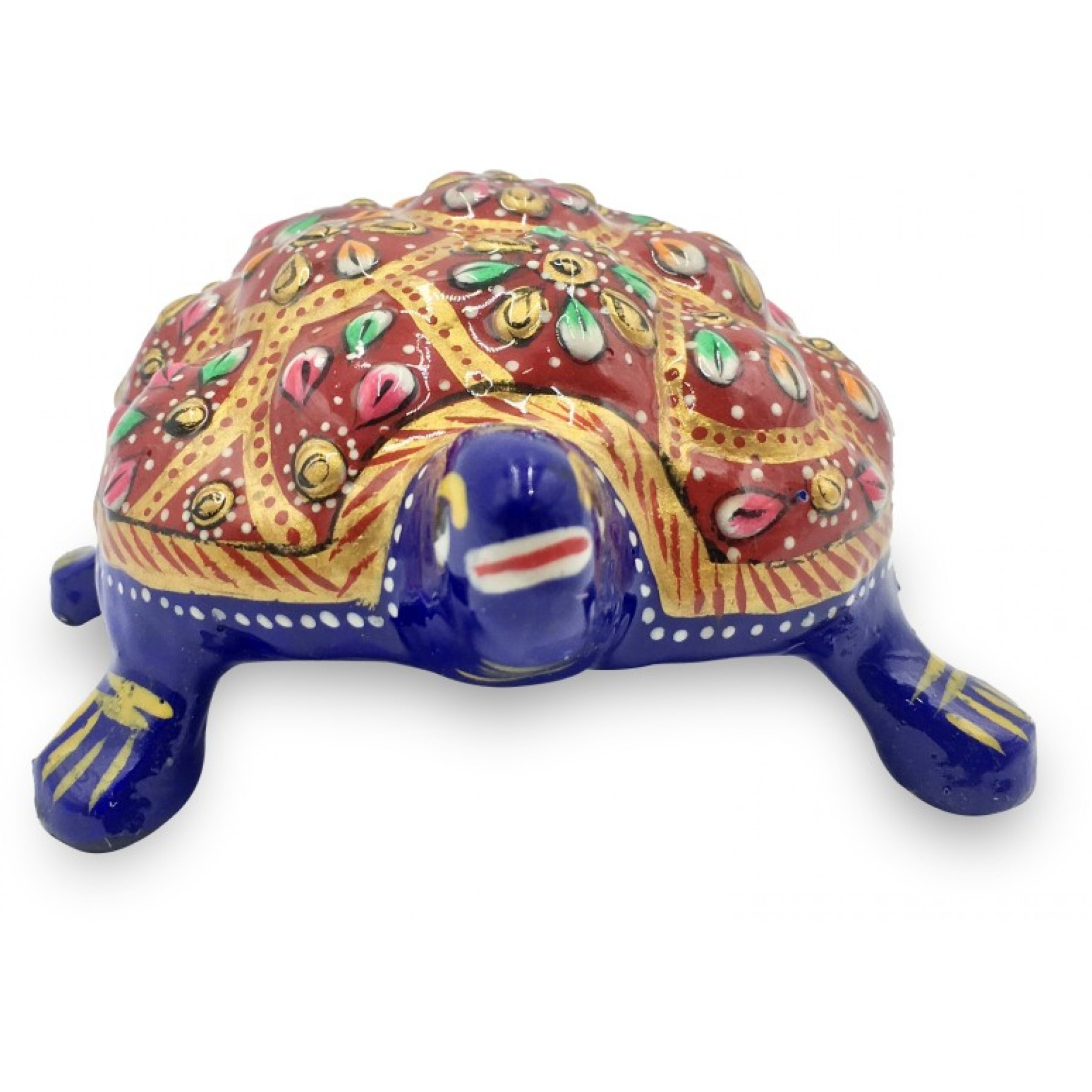 Tortoise Made In Metal And Hand Painted With Deco Paint   Home Decor  Handicraft