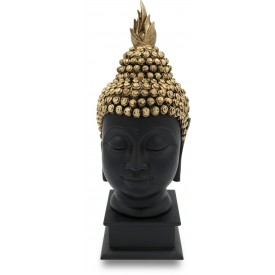 Buddha Serene Face Handmade in Polyresin - Resin Idols of Buddha Face