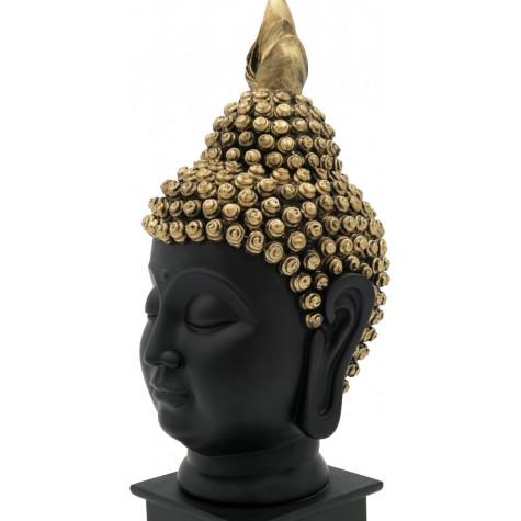 Buddha Serene Face Handmade in Polyresin - Resin Idols of Buddha Face