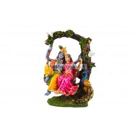 Radhe Krishna on Jhula