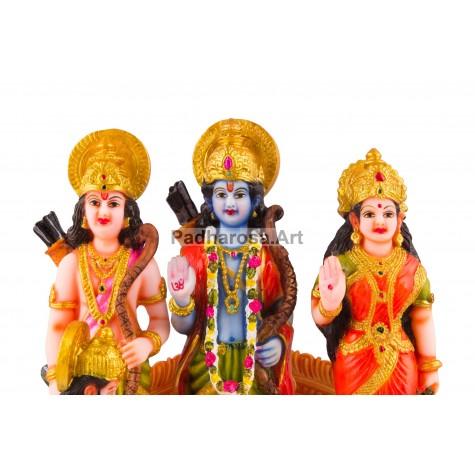 Ram Laxman Sita Hanuman Statue