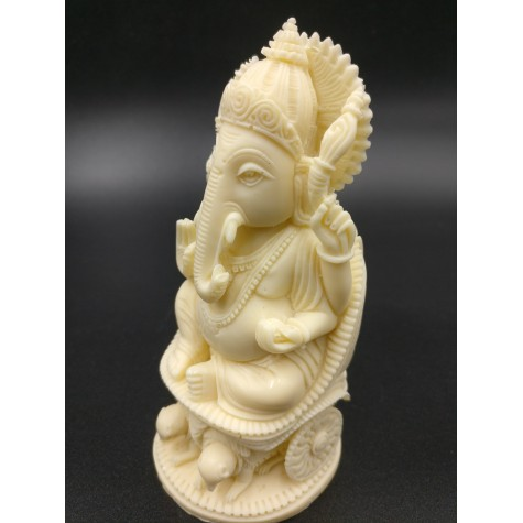 Ganesh statue in polyresin 4.5 inches - Ganesha idols, Ganpati figurines and carvings handmade - Indian handicrafts