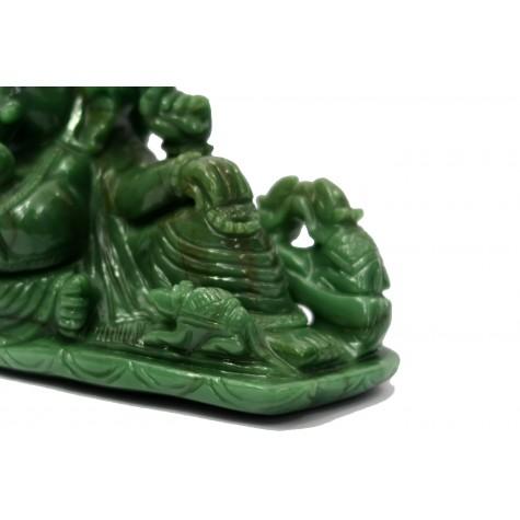 Ganesha in Green Australian Jadestone