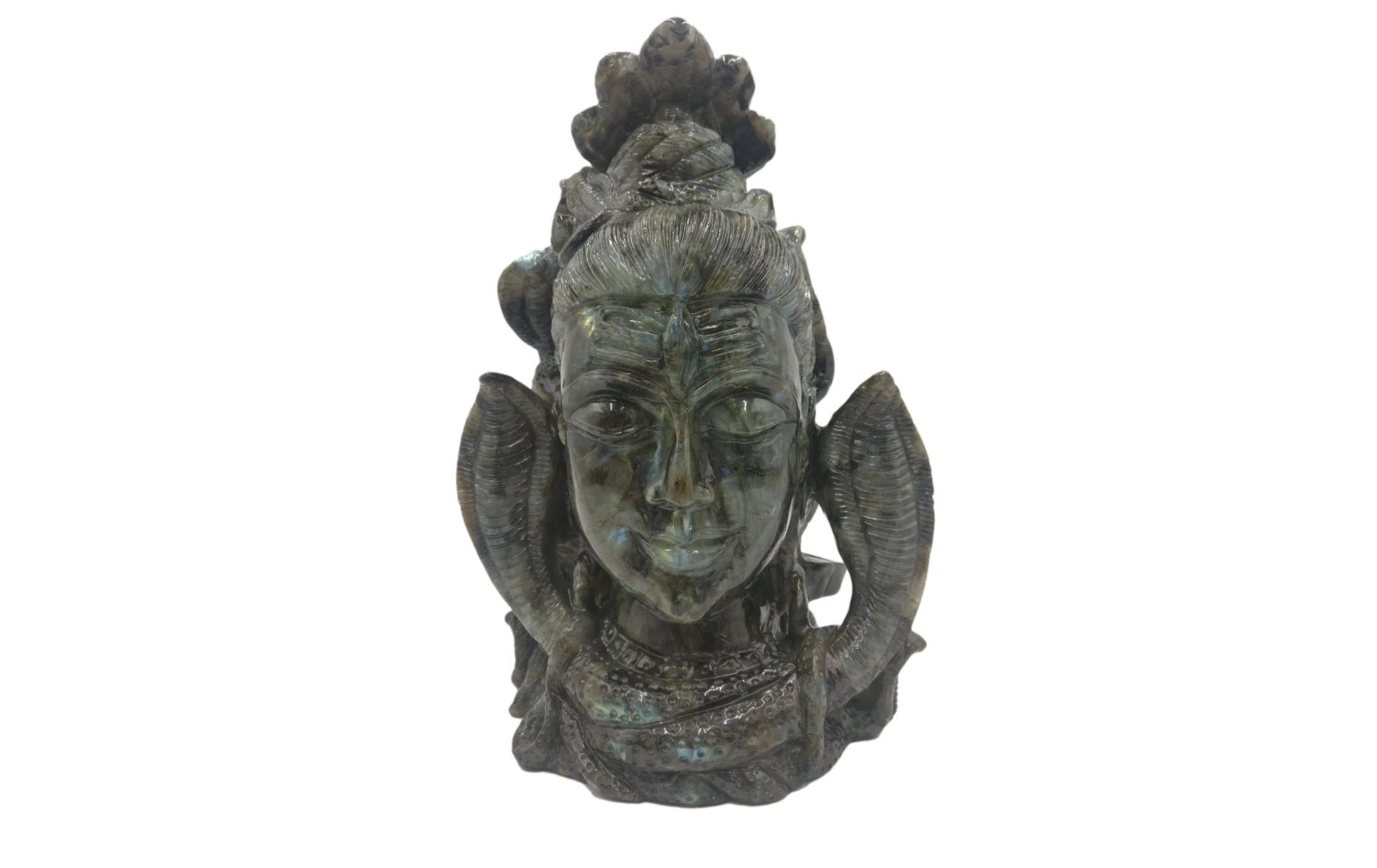 Shiva HEad Labradorite