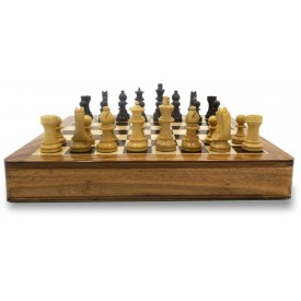 Classic Chess Set made in Wood with Magnetic Board - Buy Chess Set Online
